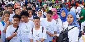 Peserta Didik Asih Budi Ikutserta Gerak Jalan Dalam Rangka Hari Disabilitas Internasional (HDI)